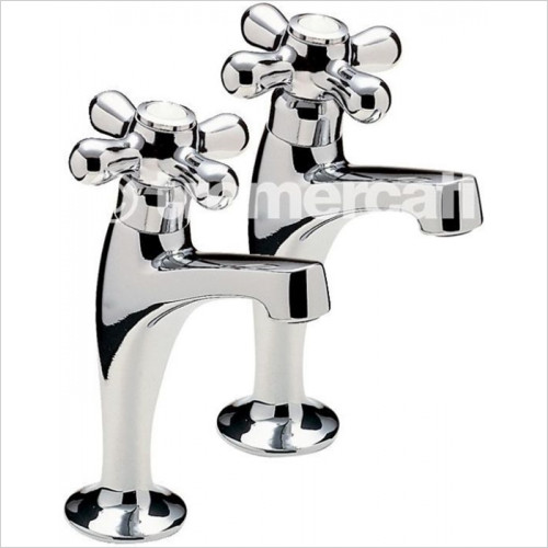 Tremercati - Series 900 Of High Neck Pillar Taps With Crosshead