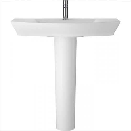 Hudson reed - Maya 850mm Basin & Semi Pedestal