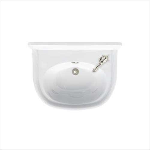Arcade - 500mm 1TH RH Cloakroom Basin