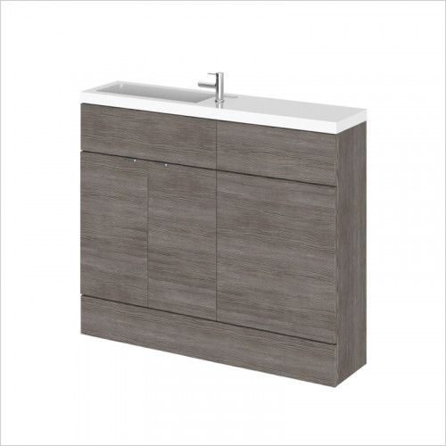 Hudson reed - 1000mm Combination Vanity & WC Compact