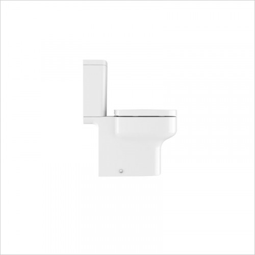 Crosswater essentials - Kai S Compact Close Coupled Toilet Open