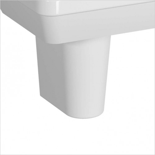Vitra Bathroom Collection - S50 Large Semi Pedestal