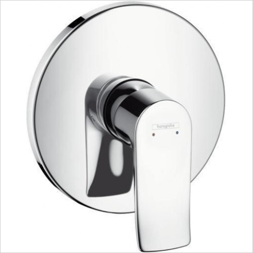 Hansgrohe - Bathrooms - Metris Shower Mixer Concealed Finish Set
