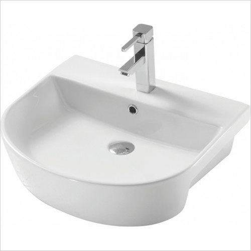 Scudo Bathrooms - Middelton Semi Recessed Basin