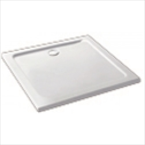 Eastbrook - Volente ABS Stone Resin Tray 800 x 800mm