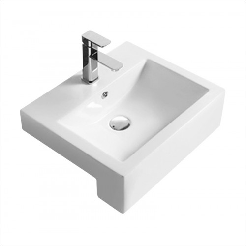 Hudson reed - Square Semi Recess Basin W510xD510xH165