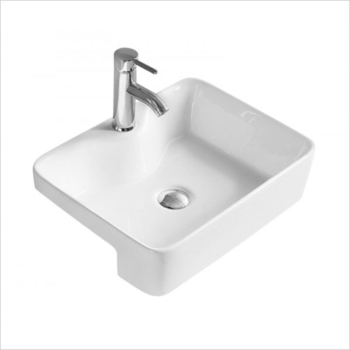 Hudson reed - Rectangle Semi Recess Basin W480xD370xH130