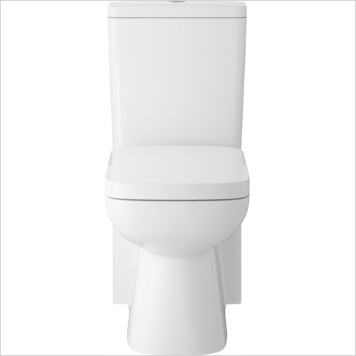Hudson reed - Arlo Compact Flush to Wall Pan, Cistern & Soft Close Seat