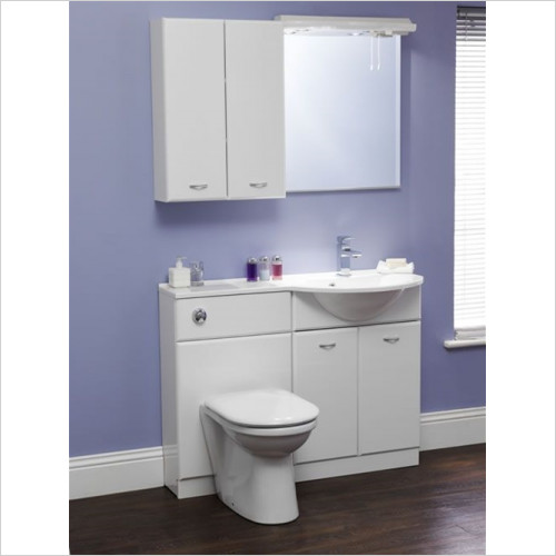 Eastbrook - Diamante 600mm Basin Unit