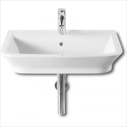 Roca - The Gap Wall Hung Basin 650 x 470mm 1TH