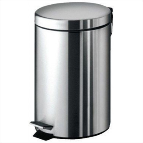 Bathroom Origins - Gedy Pedal Bin 7 Litre