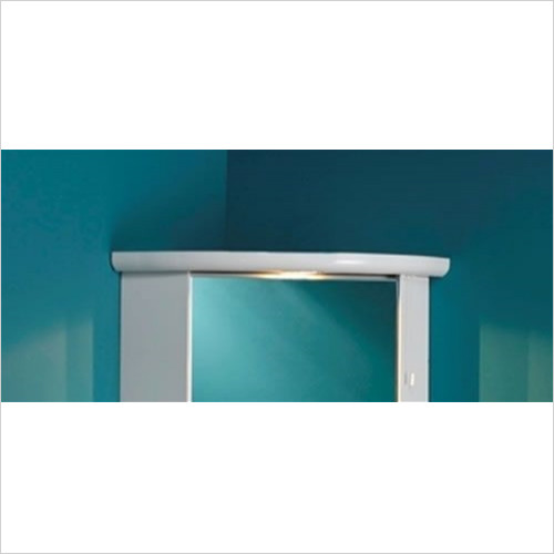 Eastbrook - Corner Cupboard Light Cornice