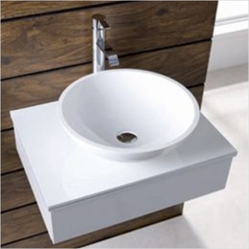 Eastbrook - Rondo Sit On Basin 412mm