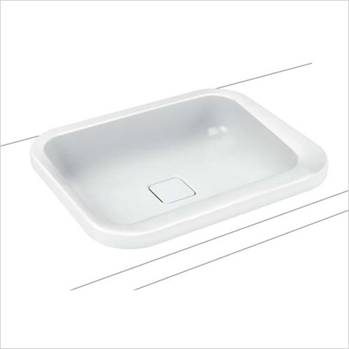 Kaldewei - Avantgarde Emerso Built-in Basin 52cm Type B