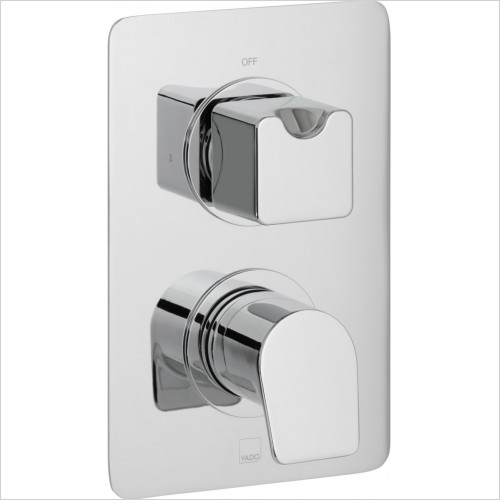 Vado - Bathrooms - Photon Single Outlet Trim For 148D Thermostatic Valve