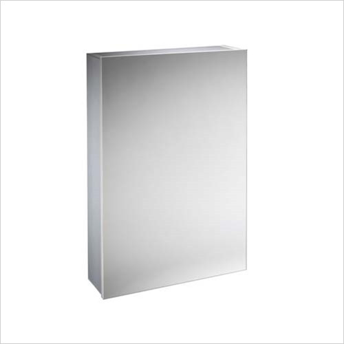 Tavistock - Balance Single Door Cabinet 440 x 650mm With LED