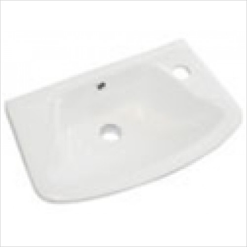 Eastbrook - Loire Cloakroom Basin 350 x 250mm 1TH RH