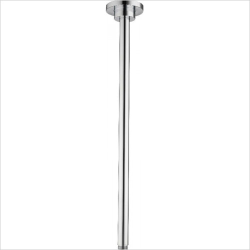 Ilux and HiQ - Options Ceiling Mount 450mm Easyfit Round Arm