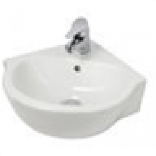 Eastbrook - Corner Basin 450mm 1TH