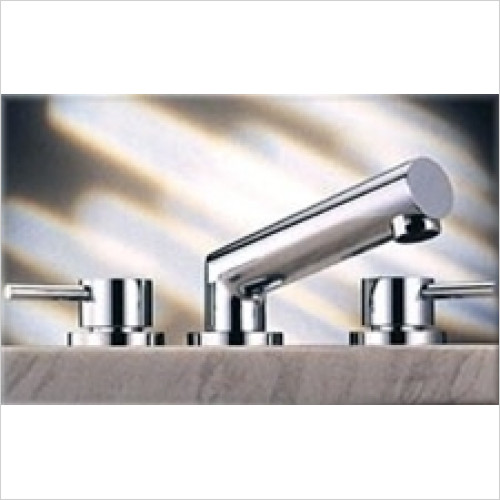 Tremercati - Anzio Lever 3 Hole Bath Filler