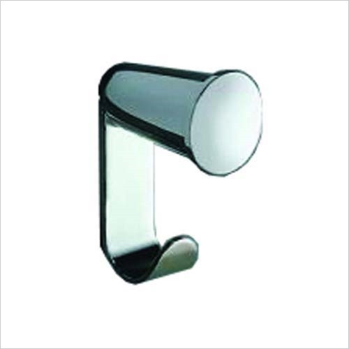 Inda - Accessories - Ego Double Robe Hook 3 x 7h x 4cm