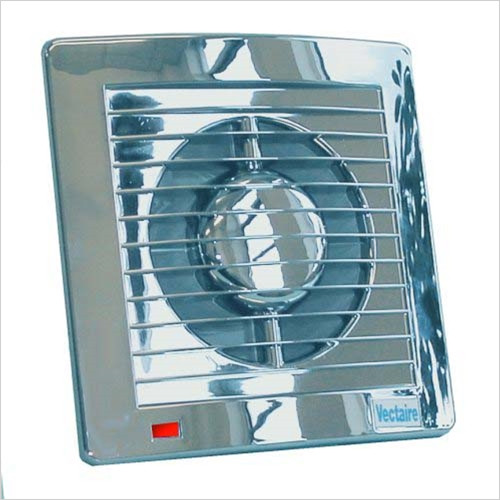 Vectaire - AS Plus Slimline Axial Fan (IPX4) 10cm Diameter