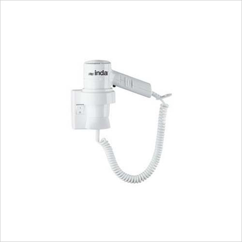 Inda - Accessories - Hotellerie Hair Dryer/Wall Mounted 25 x 22h x 12cm