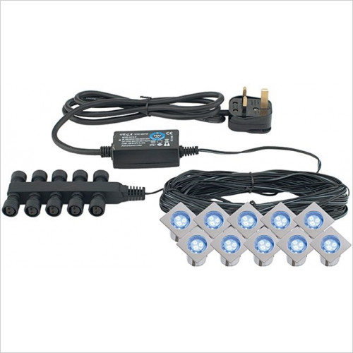 Abacus - Mini Square 10 Light LED Kit