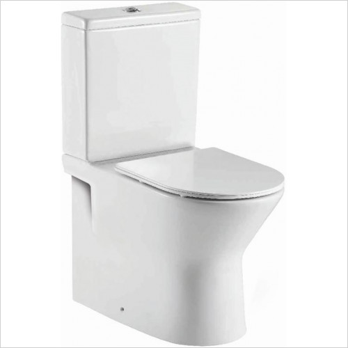 Scudo Bathrooms - Middleton Rimless Closed Back Pan