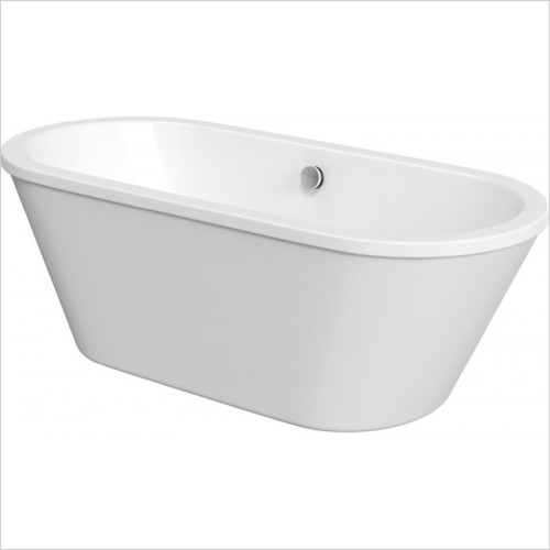 Moods - Savoy Freestanding Double End Skirted Bath 1700 x 750mm 0TH