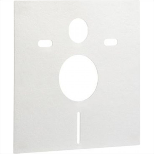 Roca - Sound Installation Mat For All Wall Hung WC's & Bidets