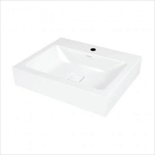 Kaldewei - Avantgarde Cono Wall Hung Basins 60x50cm 1TH