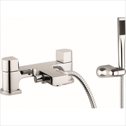 Crosswater essentials - Bath Shower Mixer Dual Lever With Kit