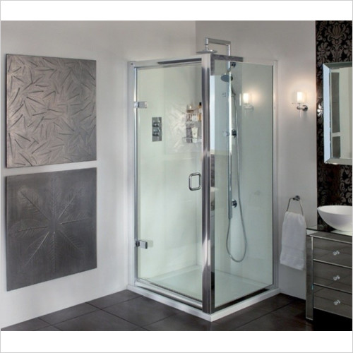 Aqata - ES Hinged Door, Corner Option 900x900mm RH