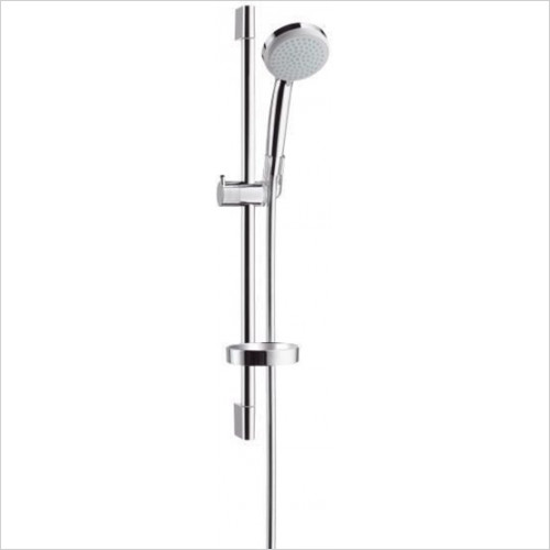 Hansgrohe - Bathrooms - Croma 100 EcoSmart Vario/Unica'C Set 0.65m
