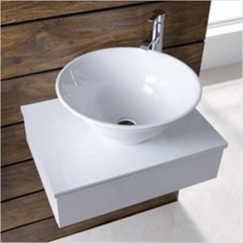 Eastbrook - Barbro Sit On Basin 460mm