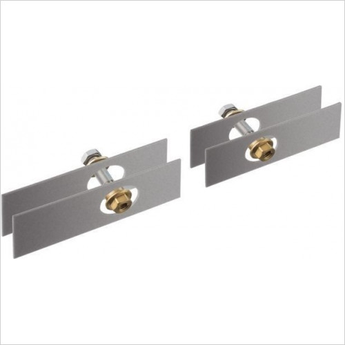 Hansgrohe Axor - Bathrooms - Universal Mounting Kit For 2 Sided Glass Montage
