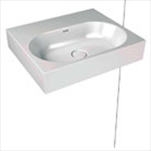 Kaldewei - Avantgarde Centro Wall Hung Basin 60x50cm 1TH