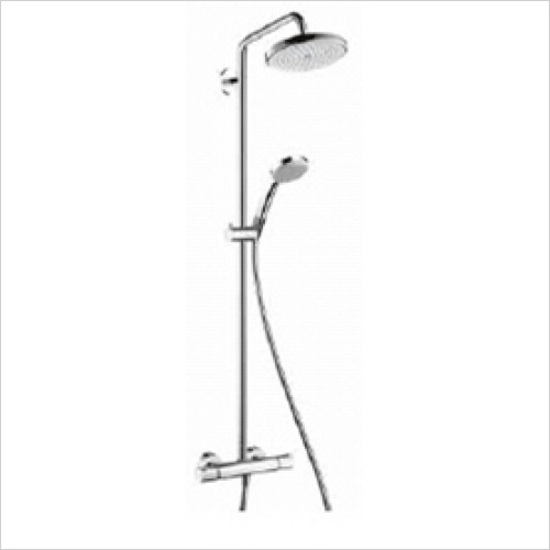 Hansgrohe - Bathrooms - Croma 220 Showerpipe Round
