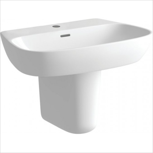 Moods - Tilia 1TH Basin & Semi Pedestal