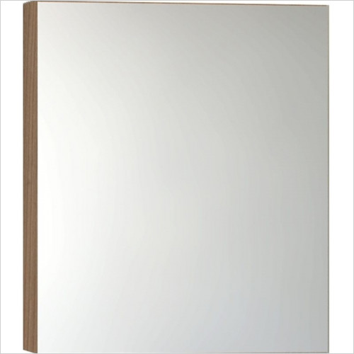 Vitra Bathroom Collection - Classic Mirror Cabinet 60cm RH