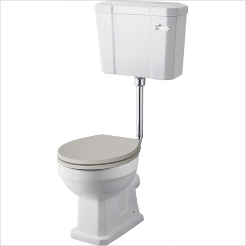 Hudson reed - Comfort Low Level WC & Flush Pipe