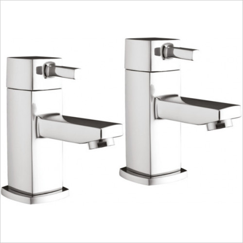 Scudo Bathrooms - Forme Basin Taps