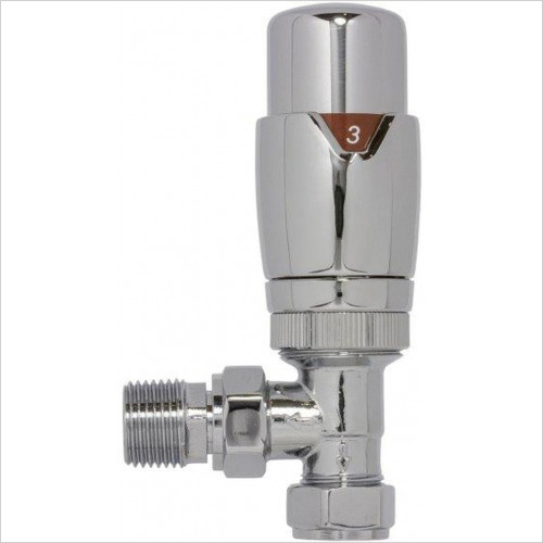 SBH - Angled Thermostatic Valve