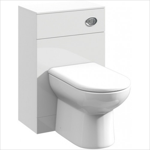 essentials - Alaska 500mm Back To Wall WC Unit