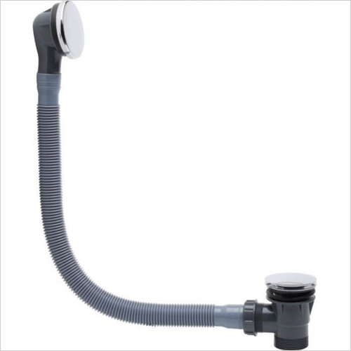Roper Rhodes Taps - Pop-Up Click Bath Waste 670mm Length