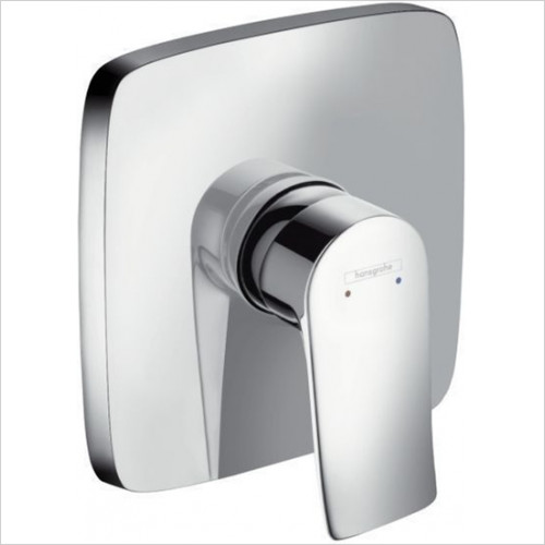 Hansgrohe - Bathrooms - Metris Shower Mixer Concealed Square