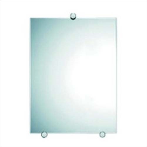 Inda - Accessories - 51 x 39cm Mirror With Satin Frieze (5mm Glass)