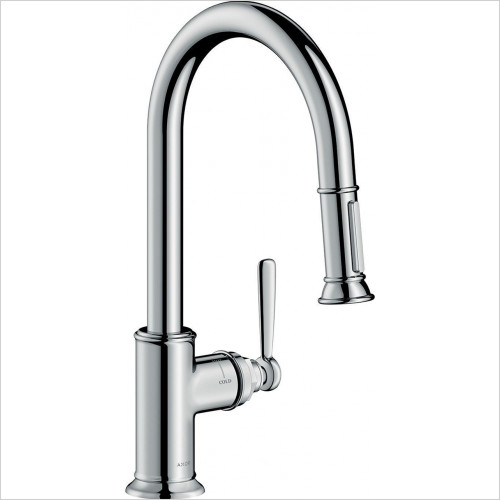 Hansgrohe Axor - Bathrooms - Montreux Single Lever Kitchen Mixer With Pull-Out Spray