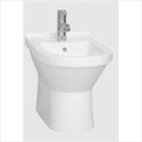 Vitra Bathroom Collection - S50 Floor Standing Bidet 1TH